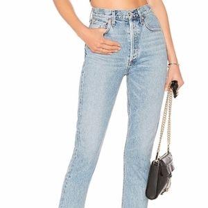 Agolde high-waisted jeans